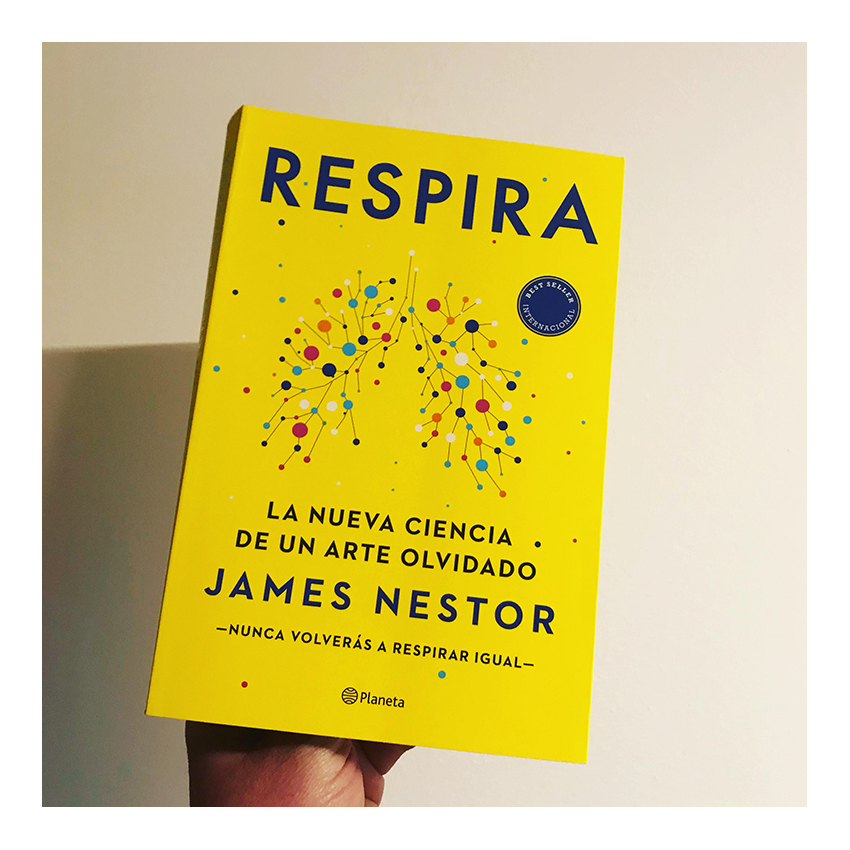 portada llibre RESPIRA de James Nestor